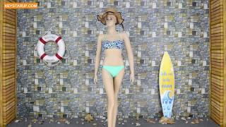 Leopard print bathing suit swimwear online customize your own logo in factory BKNI0008