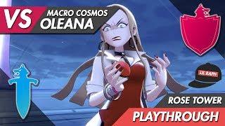 Pokémon Sword and Shield ⚔️🛡️- Battle VS Oleana (SPOILER)
