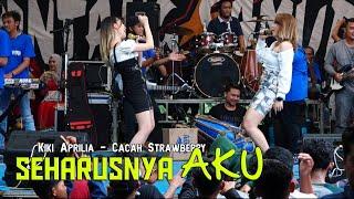 Download lagu SEHARUSNYA AKU KIKI APRILIA Feat CACHA STRAWBERRY - BINTANG SAMUDRA LIVE BLORA 2021