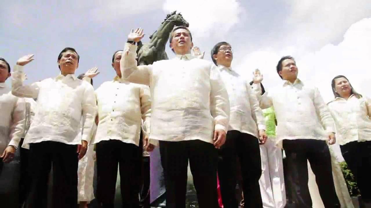 Panunumpa Sa Watawat Ng Pilipinas By Cavite Provincial