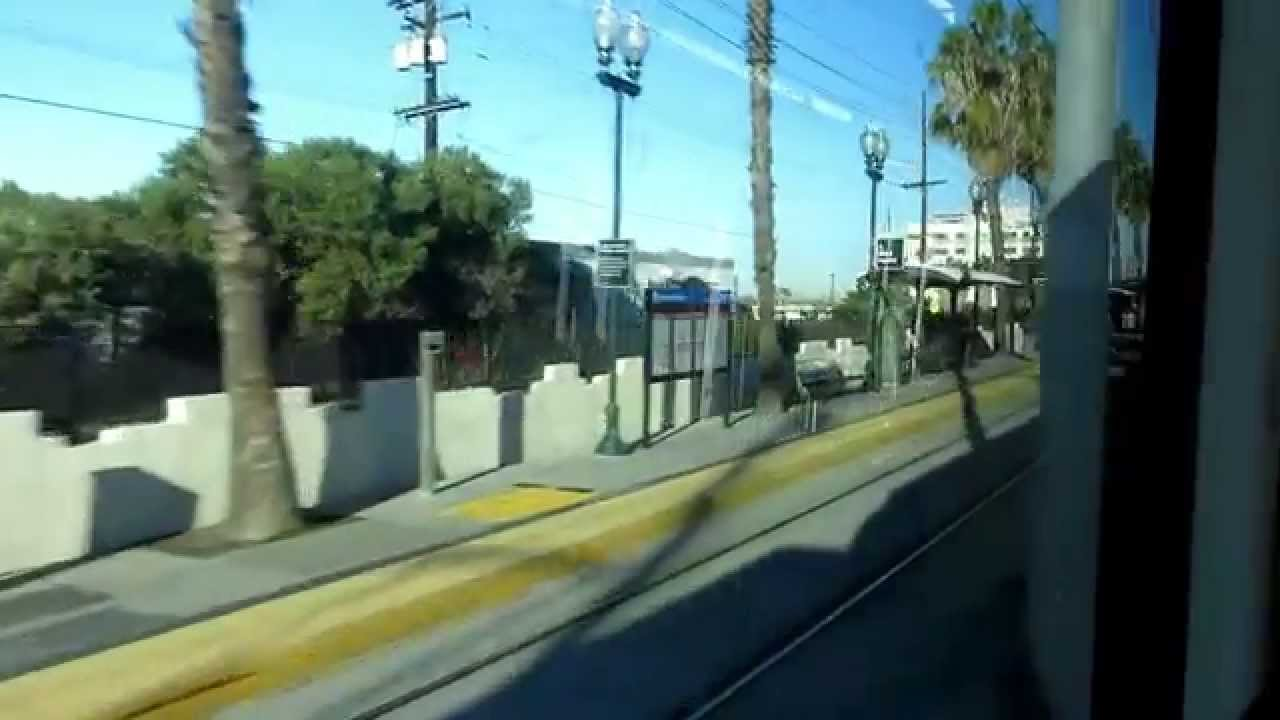 san diego green line trolley ride from santa fe depot to santee town center youtube. Black Bedroom Furniture Sets. Home Design Ideas