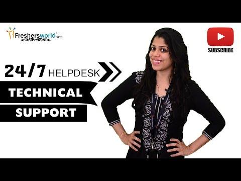 Job Roles For Technical Support – BPO,MNC's,Customer Service,Help Desk