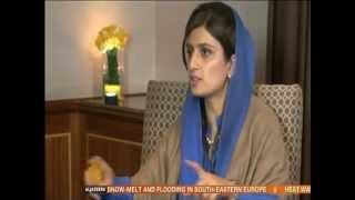 Hina Rabbani Khar - U.S and Pakistan relations