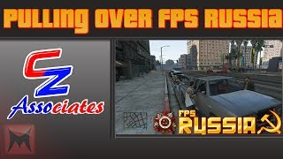 GTA V | Pulling Over FPS Russia #CZGA