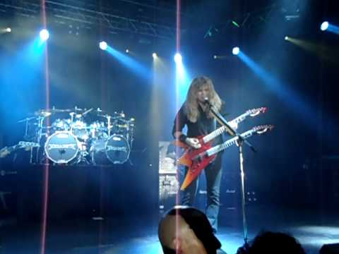 Trust - Megadeth live in Rome (Italy), April 3rd 2011
