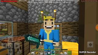 Выживание, копаем шахту и строим в игре Minecraft продолжение / Видео