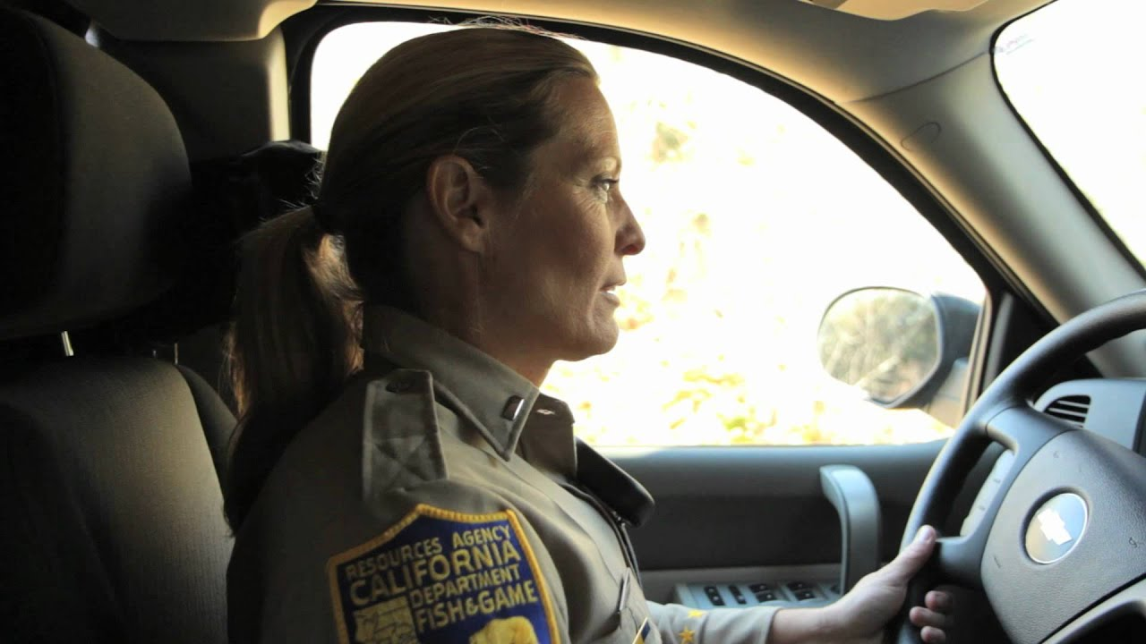 California game wardens foundation lt warden christy for Ca game and fish