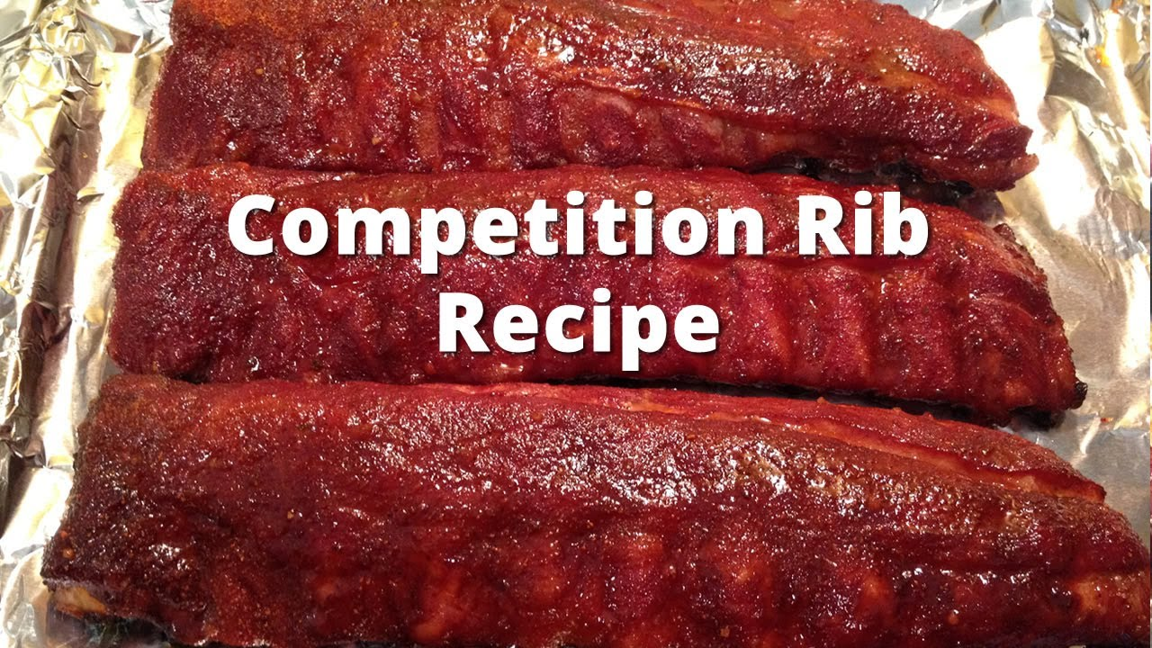 Competition Rib Recipe - HowToBBQRight Baby Back Rib Method - YouTube