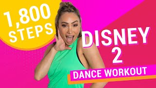1,800 Steps | Disney Mix Part 2 | 20 Minute At Home Dance Workout