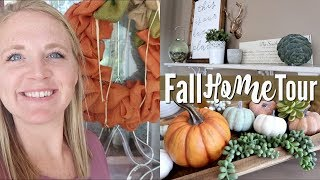 FALL HOME TOUR 2018 | FALL DECOR
