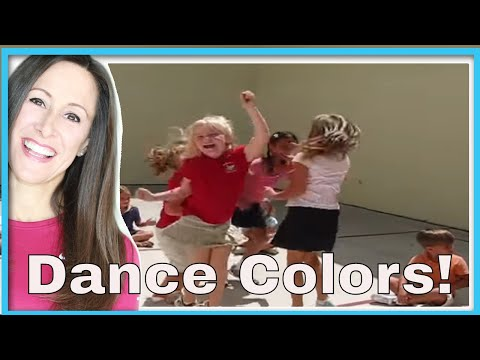 Colors Dance! Children's Song | Learn Colors | Dancing Colors | Patty Shukla