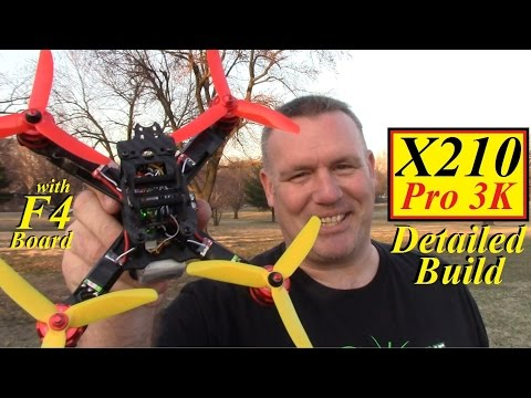 X210 Pro 3K (F4) Detailed Build Video from Banggood
