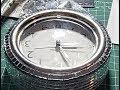 DIY Glam Mirrored 48 inch Wall Clock- Clock Decorating-Elegant- Easy Pt. 1