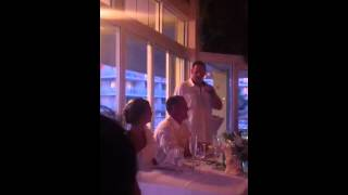 Epic fail best man speech