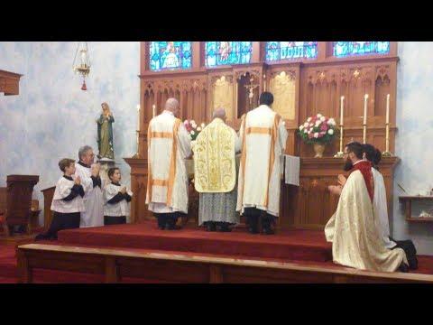 Solemn Mass - Christ the King - November 26th, 2017