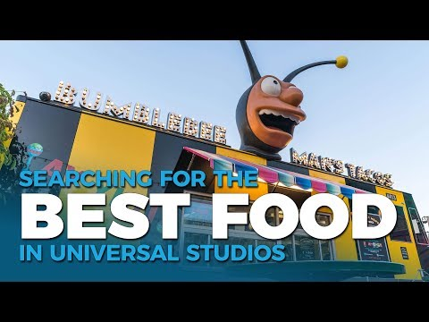 Trying The Best Quick Service Food In Universal Orlando
