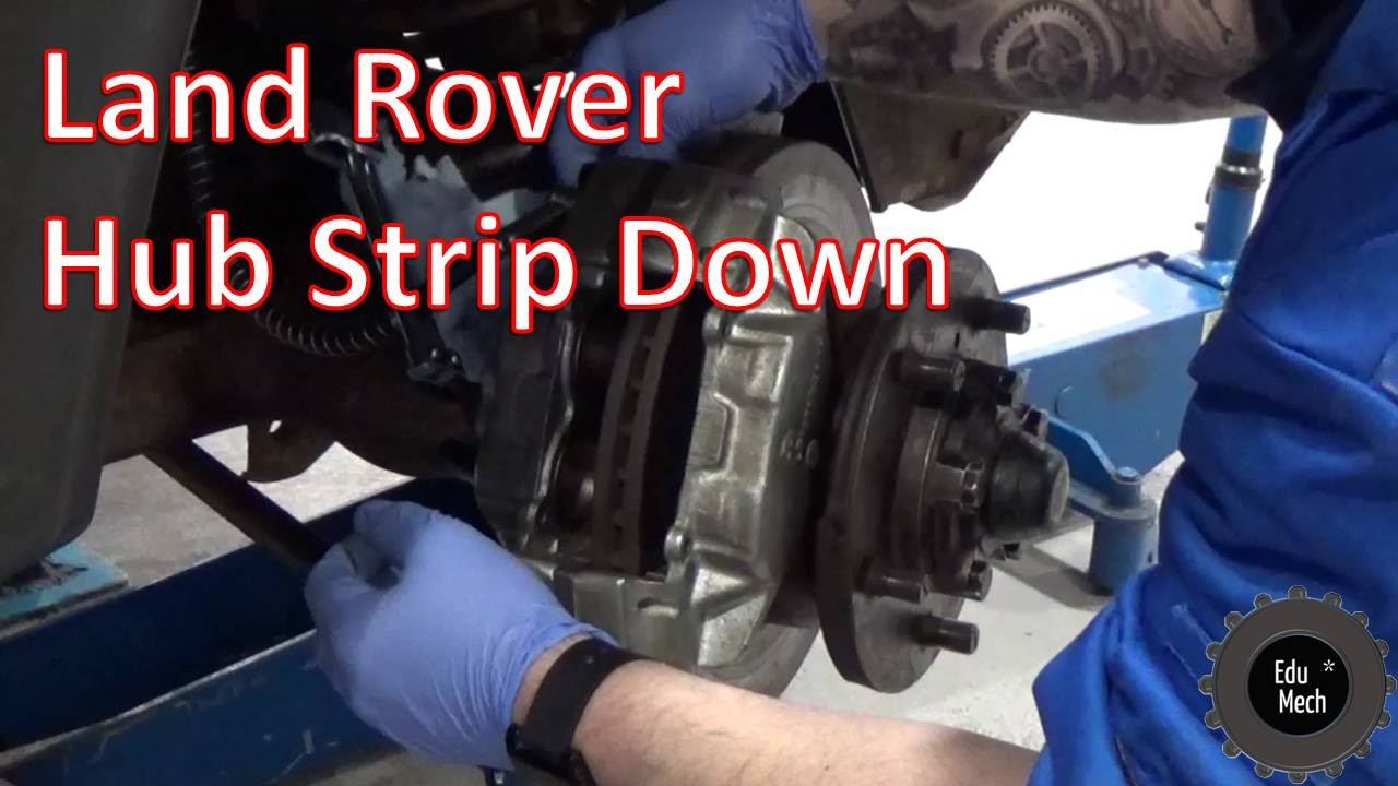 Land Rover Axle Diagram Front Hub Strip Down Defender 1998 Onwards 90 110