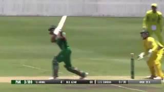 Babar Azam 98 Runs   Pakistan vs Cricket Australia XI One Day Practice Match 2017 Highlights   YouTu