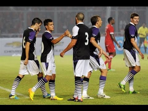 Philippe Coutinho Vs Indonesia All Stars Away 13-14 (Pre-Season Friendly) | HD