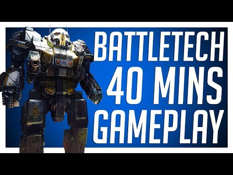 BATTLETECH 40MINS GAMEPLAY - Campaign Let's Play - Spoiler Free