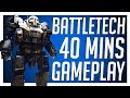 BattleTech Let's Play - 40 Minutes of Campaign Gameplay! (Spoiler Free)