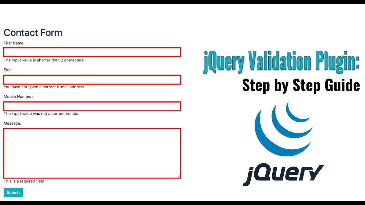 Jquery not validating all fields