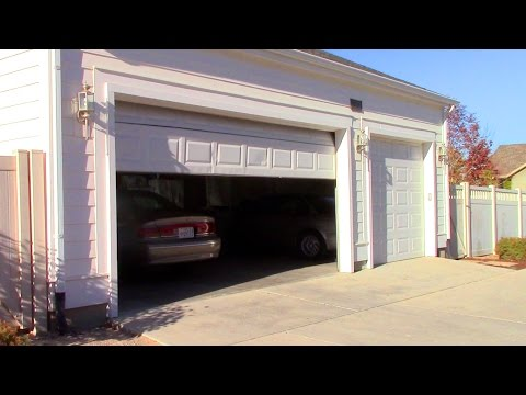 Garage Door Repair - won't stay closed or go down