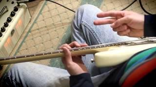 Как играть Двуручный Тэппинг на электрогитаре