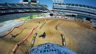 GoPro HD:  Oakland Coliseum Opening Day Monster Energy Supercross 2011