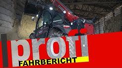 Case IH-Teleskoplader Farmlift 742: Starker Arm in rot!   profi #Fahrbericht