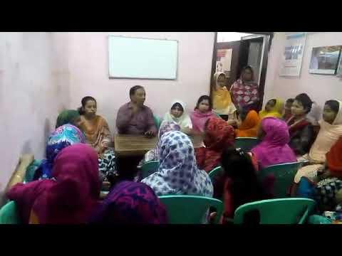 awareness rising inside of BAWF office in Mirpur.