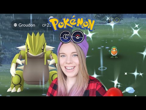 SHINY GROUDON, TAILLOW AND MORE! Pokemon Go Hoenn Event Update! thumbnail