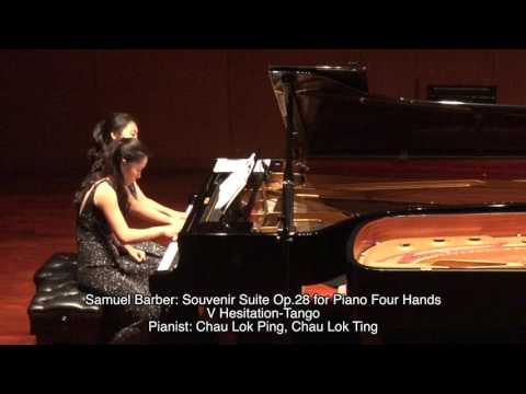 Samuel Barber: Souvenir Suite Op.28 for Piano Four Hands