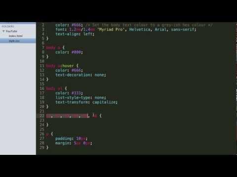 HTML & CSS Tutorial: Margins And Padding!