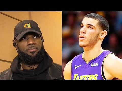 Download Youtube: LeBron James Says He'll Dunk on Lonzo Ball as a Promise to a Kid in the Hospital