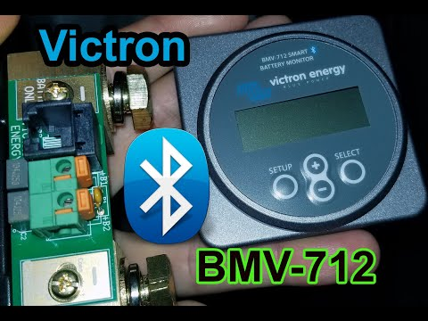 Victron Energy Bluetooth Battery Monitor BMV-712 w/ Temperature Sensor Unboxing Review
