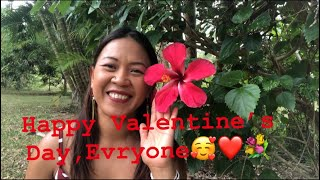 Happy Valentine's Day,Everyone #สุขสันต์วันวาเลนไทน์นะคะ💐❤️🥰