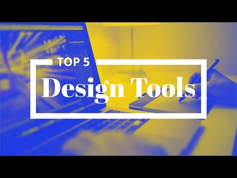 Top 5 Design Tools I Use Right Now