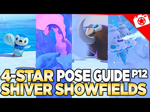 Shiver Snowfield 4-Star Pose & Request Guide   New Pokemon Snap
