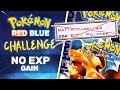 No EXP Challenge | Pokemon Red/Blue