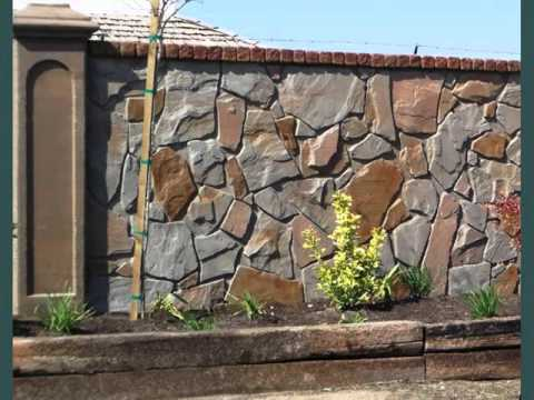 Collection of decorative fences landscaping ideas youtube - Decorative stone garden ideas ...
