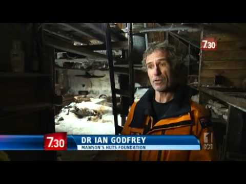 Mawson's Hut reveals history frozen in time