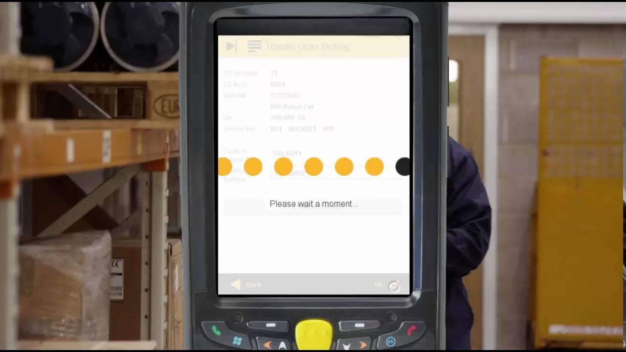 SAP mobile app: Transfer Order Picking
