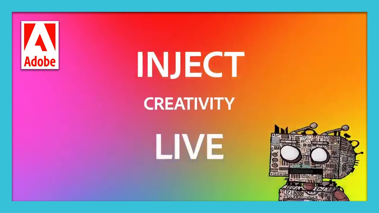 Inject Creativity Live - October 6th | Adobe Education in APAC