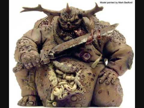 Daemons of Chaos painted miniatures (Warhammer Fantasy) - YouTube