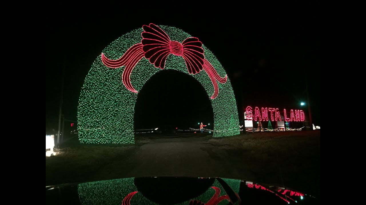 Worlds Largest Christmas Light Display 24 Acres Santa
