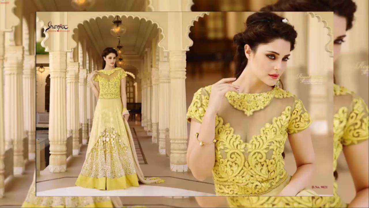 New dress collection for diwali for women - Anarkali Designer Classy Anarkali Diwali Special Latest Fashion Collection Youtube