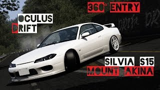 Drifting a Nissan Silvia S15 RB26DETT at Mount Akina Downhill. 360 ...