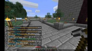 Creative Mode PVP Abuse on Middle Ages Minecraft Server