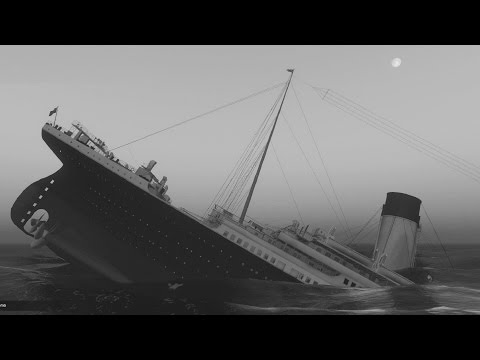 R.M.S TITANIC Sinking and Driving GTA 5 Mods